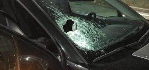 Gela: spari contro un'auto