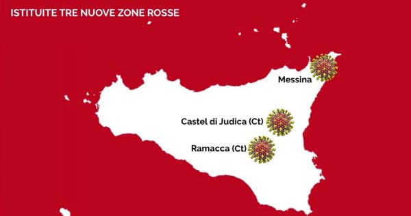 Messina è zona rossa