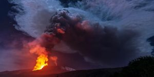 Etna, le fontane di fuoco