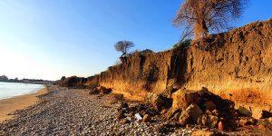Spiaggia della Misita divorata dall'erosione