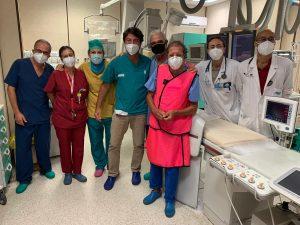 Palermo, angioplastica salvavita all'Ingrassia